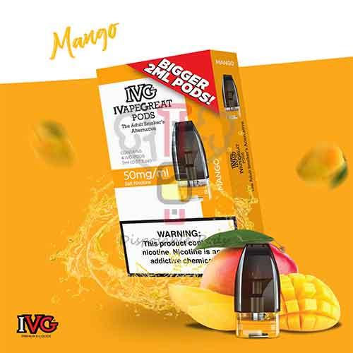 IVG Mango Prefilled pod