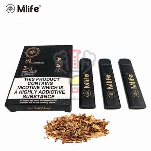 Tobacco Disposable Pod By Mlife