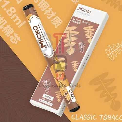 Micko Classic Tobacco disposable