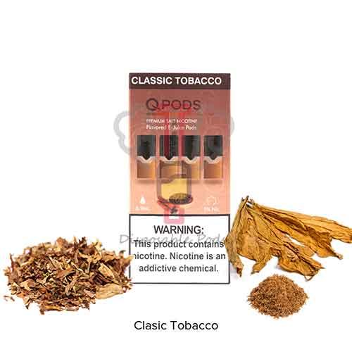 QPODS Classic Tobacco