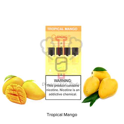 QPODS Tropical Mango