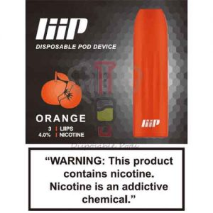 Liip Orange Disposable Pod