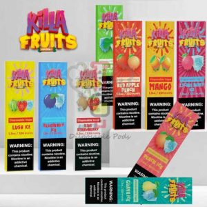 Killa Fruits Disposable Pod