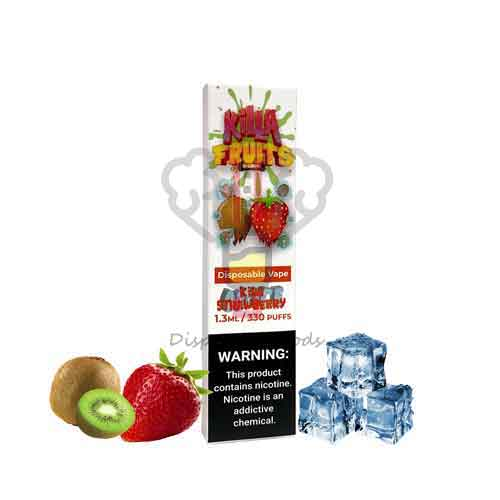 Killa Fruits Kiwi Strawberry ICE Disposable