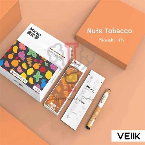 Micko Nuts Tobacco Veiik