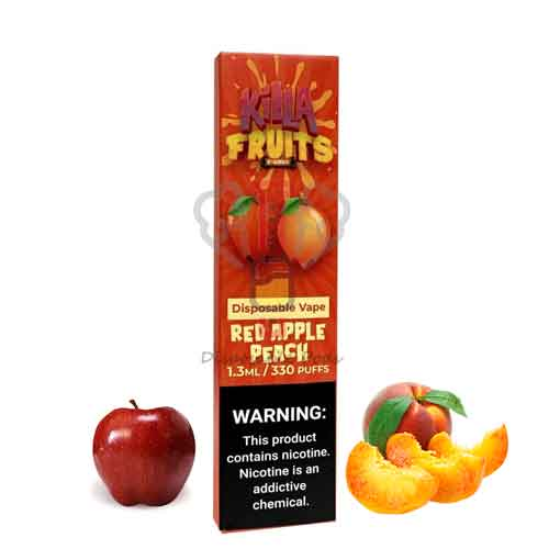 Red Apple Peach By Killa Fruits