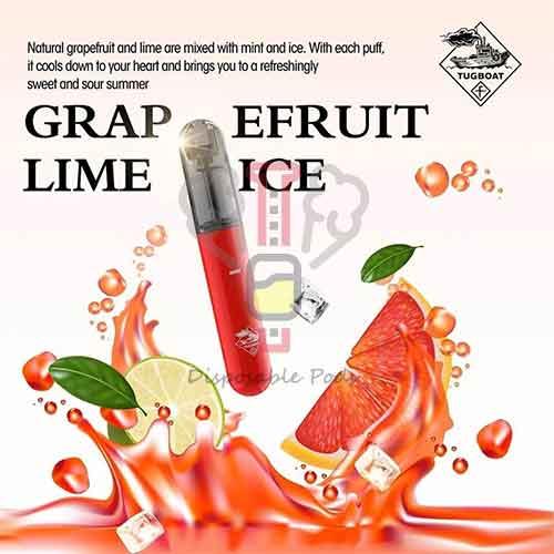 Tugboat Grapefruit Lime ICE