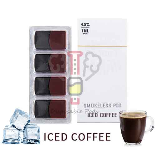 SMOKELESS Iced Coffee PODS
