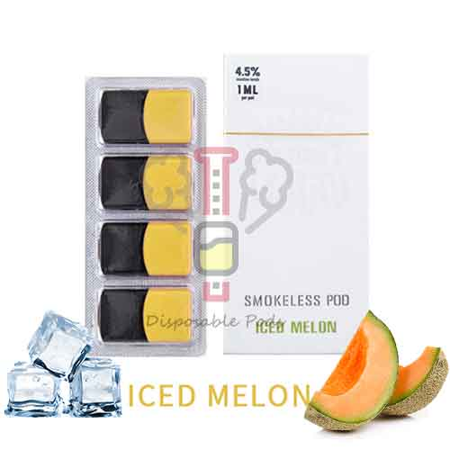 SMOKELESS Iced Melon PODS