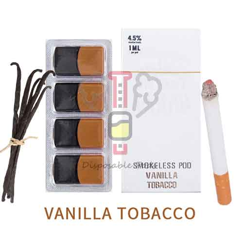 SMOKELESS Vanilla Tobacco PODS
