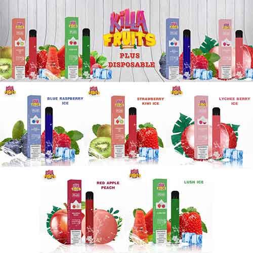 Killa Fruits Plus Disposable 600 puffs